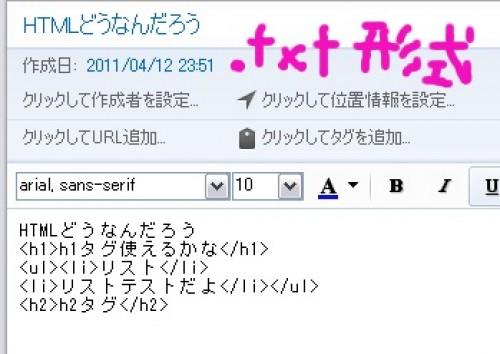 TXT形式