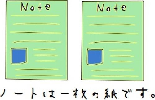 ノートとは